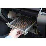 higienização de ar condicionado automotivo land rover quanto custa Parelheiros