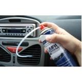 higienização de ar condicionado automotivo volvo Sacomã
