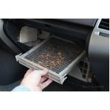 limpeza ar condicionado carro