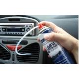 limpeza e higienização de ar condicionado de carro