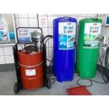 troca de óleo automotivo