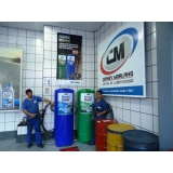 troca de óleo lubrificante para automóveis chevrolet Campo Grande